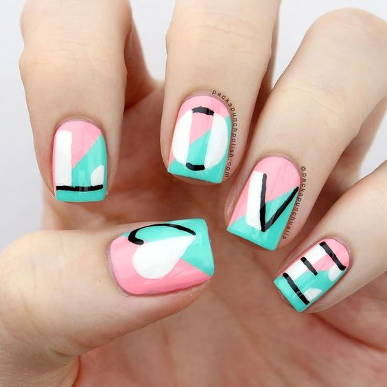 Nail Art for Valentine's day