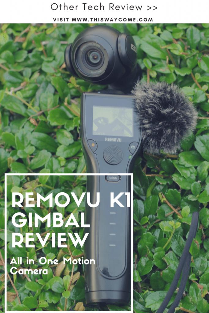 Removu k1 Gimbal
