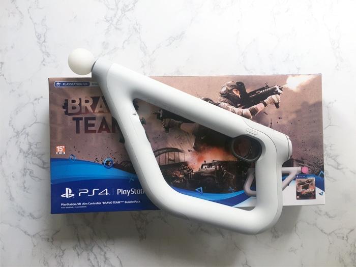 psvr aim controller games