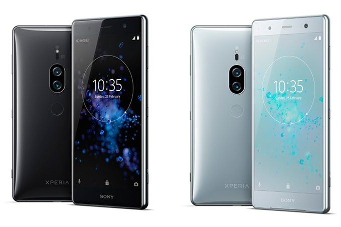 Sony Xperia XZ2 Premium Design Feature
